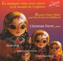 Christian Favre spielt russische Musik, CD
