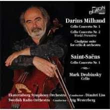 Darius Milhaud (1892-1974): Cellokonzerte Nr.1 & 2, CD