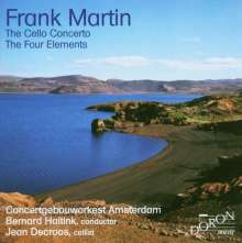 Frank Martin (1890-1974): Cellokonzert, CD