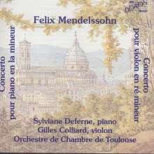 Felix Mendelssohn Bartholdy (1809-1847): Klavierkonzert a-moll, CD