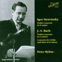 Igor Strawinsky (1882-1971): Violinkonzert in D, CD