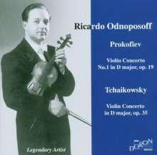 Serge Prokofieff (1891-1953): Violinkonzert Nr.1, CD