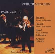 Yehudi Menuhin & Paul Coker, CD