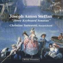 Josef Anton Steffan (1726-1797): Klaviersonaten Nr.1-3, CD