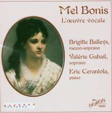 Melanie Bonis (1858-1937): Vokalwerke, CD
