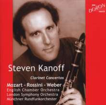 Steven Kanoff spielt Klarinettenkonzerte, CD