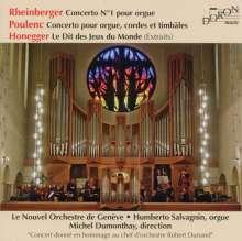 Josef Rheinberger (1839-1901): Orgelkonzert Nr.1 op.137, 2 CDs