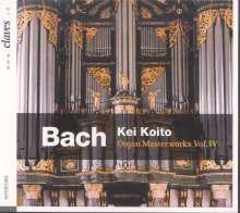 Johann Sebastian Bach (1685-1750): Orgelwerke Vol.4, CD