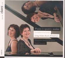 Christiane Baume-Sanglard & Dana Ciocarlie - Werke für Klavier 4-händig, CD