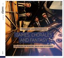 Francoise-Green Piano Duo - Games, Chorales and Fantasy, CD