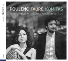 Astrig Siranossian - Poulenc / Faure / Komitas, CD