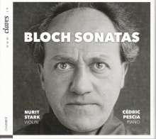 Ernest Bloch (1880-1959): Sonaten für Violine & Klavier Nr.1 & 2, CD