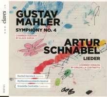 Gustav Mahler (1860-1911): Symphonie Nr.4 (Bearbeitung für Kammerensemble), CD