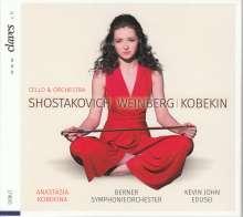 Anastasia Kobekina spielt Werke für Cello & Orchester, CD