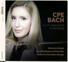 Carl Philipp Emanuel Bach (1714-1788): Flötenkonzerte Wq.22 & 168, CD