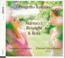 Vladyslava Luchenko & Christia Yuliya Hudziy - Progetto Italiano, CD