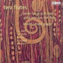 Peter-Lukas Graf & Gaby Pas-Van Riet - 2 Flutes, CD