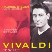 Antonio Vivaldi (1678-1741): Flötenkonzerte RV 108,428,437,438,442, CD