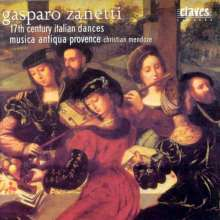 Gasparo Zanetti (1600-1660): Tänze, CD