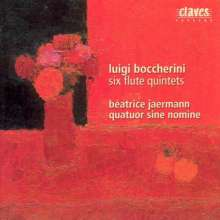 Luigi Boccherini (1743-1805): Flötenquintette G.419,423,424,426,428,429, CD
