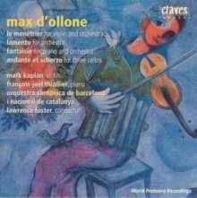 Max D'Ollone (1875-1959): Le Menetrier für Violine & Orchester, CD