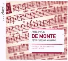 Philippe de Monte (1521-1603): Motetten,Madrigale & Chansons, CD