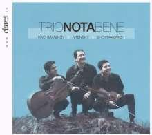 Trio Nota Bene, CD