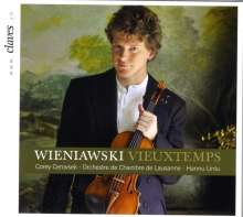 Henri Wieniawski (1835-1880): Violinkonzert Nr.2, CD