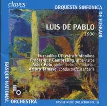Luis de Pablo (geb. 1930): Danzas Secretas für Harfe & Orchester, CD