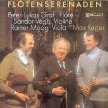 Max Reger (1873-1916): Serenaden für Flöte, Violine & Viola, CD