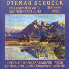 Othmar Schoeck (1886-1957): Cellokonzert op.61, CD