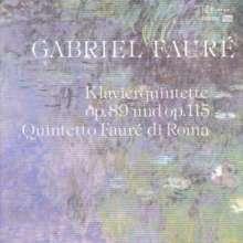 Gabriel Faure (1845-1924): Klavierquintette opp.89 & 115, CD