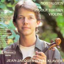 Ingolf Turban,Violine - Nostalgien, CD