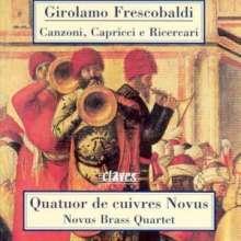 Girolamo Frescobaldi (1583-1643): 12 Canzonen, CD