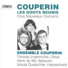 Francois Couperin (1668-1733): Concerts Nouveaux Nr.5,8,9,11,14, CD