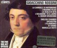 Gioacchino Rossini (1792-1868): 5 Operneinakter, 8 CDs
