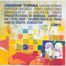 Joaquin Turina (1882-1949): Danzas Gitanas f.Orchester op.55, CD