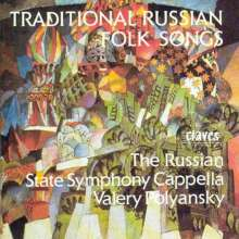 Russian State Symphony Cappella - Traditional Russian Folk Songs, CD