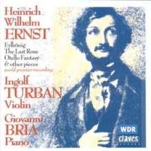 Heinrich Wilhelm Ernst (1814-1865): 6 Mehrstimmige Etüden f.Violine solo, CD