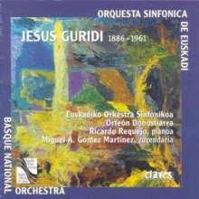 Jesus Guridi (1886-1961): Homenaje a Walt Disney f.Klavier & Orch., CD