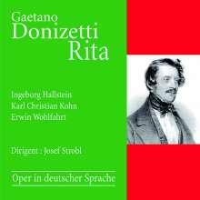Gaetano Donizetti (1797-1848): Rita (in deutscher Sprache), CD