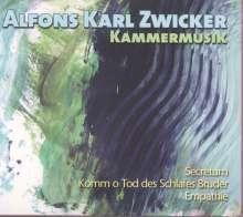 Alfons Karl Zwicker (geb. 1952): Kammermusik, CD