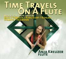 Anja Kreuzer - Time Travels On A Flute, CD
