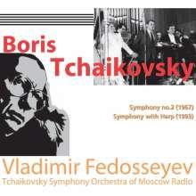Boris Tschaikowsky (1925-1996): Tchaikowsky Smy.2/+, CD