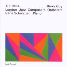 Barry Guy (geb. 1947): Theoria, CD