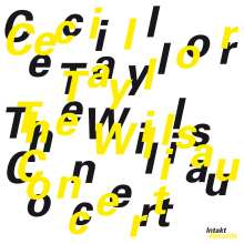 Cecil Taylor (1929-2018): The Willisau Concert -, CD