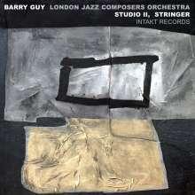 Barry Guy (geb. 1947): Study II, Stringer, CD