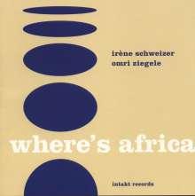 Schweizer/Ziegele: Where's Africa, CD