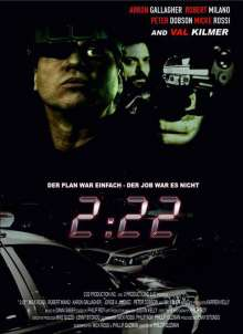 2:22 (3D Blu-ray & DVD im Mediabook), Blu-ray Disc