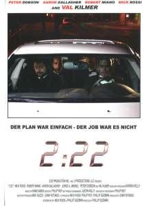 2:22 (3D Blu-ray & DVD im Mediabook), 2 Blu-ray Discs